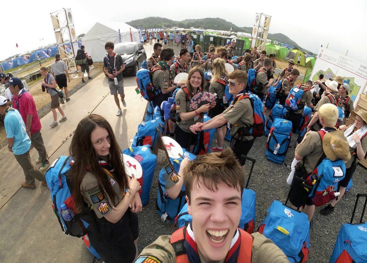 Day 1 — Arriving at Jamboree