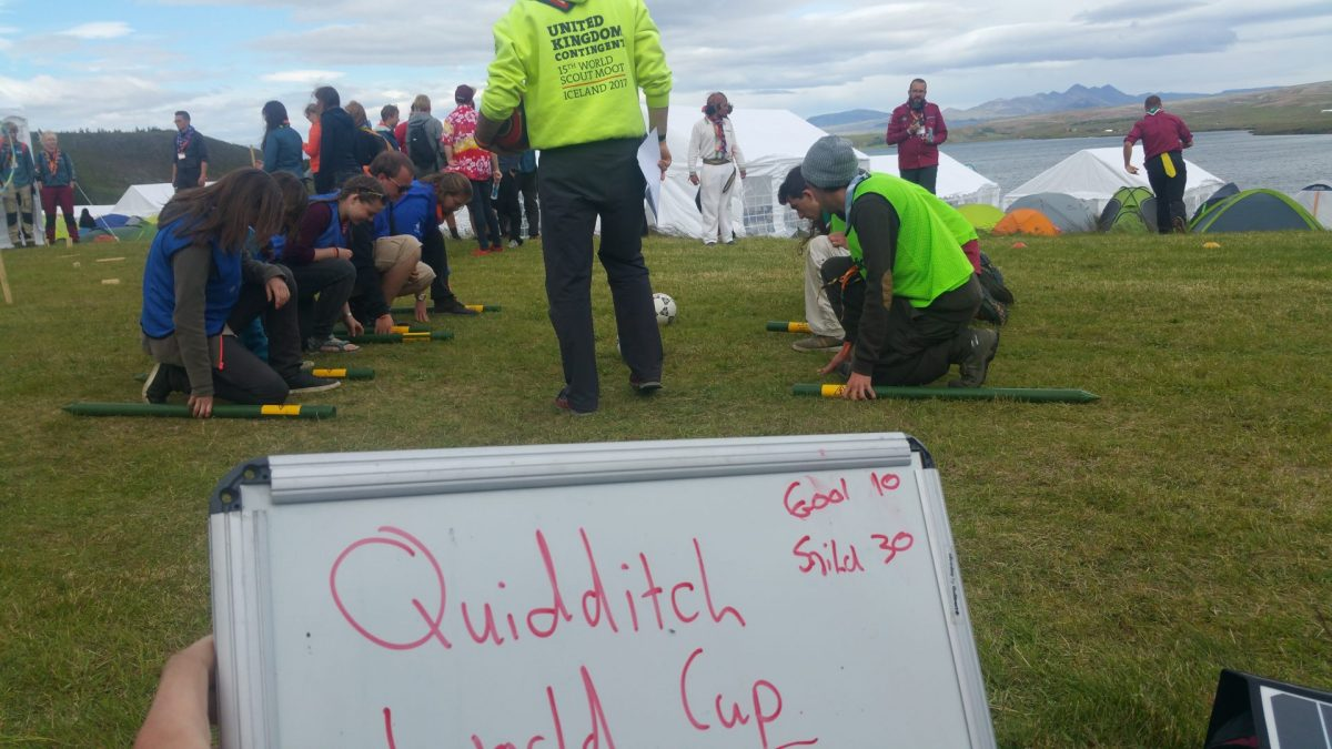 Day 6 — The Quidditch World Cup