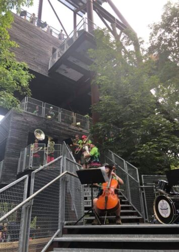 Day 10: Sustainability Treehouse and Basecamp Bash C/D (2)