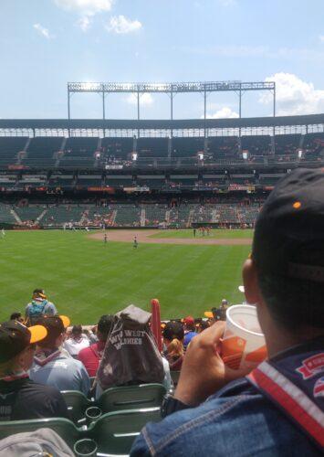 Washington Day 1: Baseball