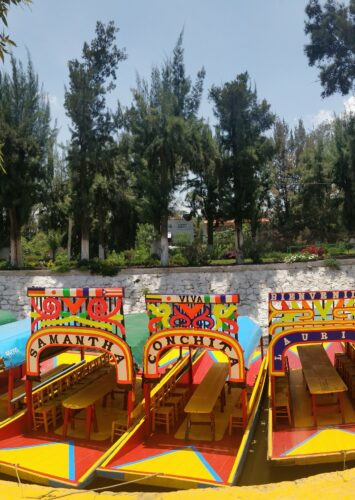 Mexico Day 4: A Boat Ride in Xochimilco (Chocky-Milk-O)